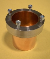 Machinable 316L on copper